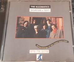 THE KLEZMATISC : SHVAYGN = TOYT  -  KLEZMER CD - JUDAIKA