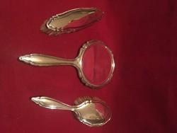 Antik ezüst pipere szett!!Bécsi ezüstműves mester remek!A múlt század elejéről!830-as ezüst tisztasá