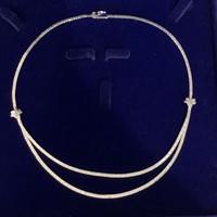 925 ezüst nyakék nyaklánc