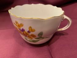 Meisseni csésze kapucsinós