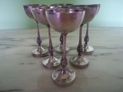 Ezüst pohár készlet