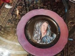 Herendi jelzésű egyedi tányér