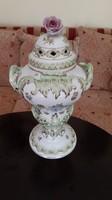Herendi barokk fedeles váza viktória mintával