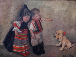 Boemm Ritta: Babák kutyával