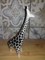 Hollóházi porcelán zsiráf