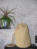 ÚJ női naturál dizajn hátizsák, táska