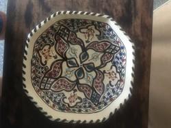 Kézzel festett tányér