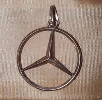 925-ös ezüst Mercedes medál