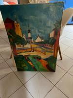 Ilosva Varga István festmény