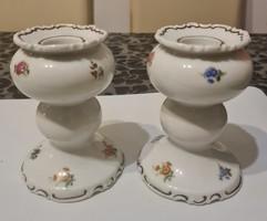 Végkiárusítás!!Wallendorf régi romantikus porcelán gyertyatartó