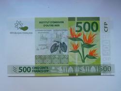 Francia Polinézia 500 francs 2014 UNC bankjegy