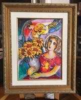 "Zamy Steynovitz: "" Sunflowers"" (Napraforgók)"
