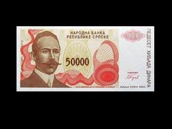 UNC - 50 000 DINAR - BOSZNIA-HERCEGOVINA - 1993