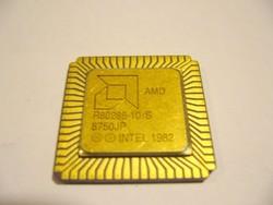 AMD R80286-10/S processzor -VINTAGE -retro RITKA antik 1982-MPL csomagautomatába is mehet