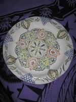 Régi,  mandala, kerámia tál, 37 cm A/ 20
