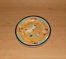 Jelzett porcelán kistányér 18,5 cm (2p)