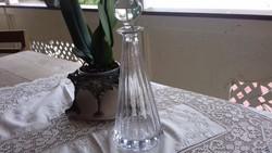 Nagyméretű kristály whiskys üveg