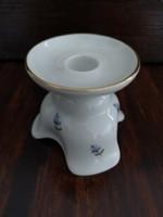Augarten Wien bécsi porcelán gyertyatartó