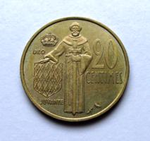 MONACO - 20 Cent – 1974 - Forgalmi érme
