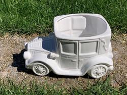 Nagyméretű porcelán autó kaspó olcsón