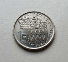 MONACO -1 Frank – 1979  - Forgalmi érme