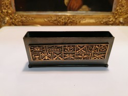 Fémműves iparművész bronz íróasztal kellék