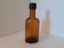 Régi likőrös palack Unicum Likőrgyár Budapest feliratos üveg