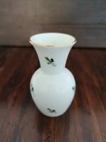Augarten bécsi porcelán ibolyaváza