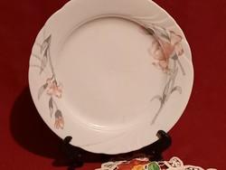 1239 Arpo süteményes tányér nagyon szép virág mintával 19 cm