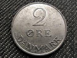 Dánia IX. Frigyes (1947-1972) 2 øre 1969 C♥S AUNC (id33329)