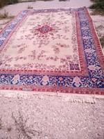 Antik eredeti szövött certifikáttal keleti perzsaszönyeg 275x355cm