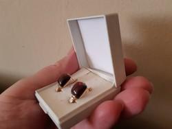 Sabine Beumer Designer gyémántokkal 14.kr.arany fülbevaló