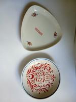 Hollóházi tányérok