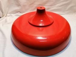 Retro piros fém lámpabura