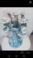 Geszler Mária otagu kerámia gyertyatartó