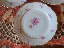 Hutschenreuther német porcelán süteményes tányérok