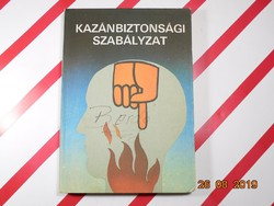 Kazánbiztonsági szabályzat