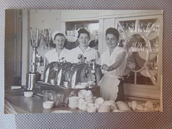 1970 -es évek presszó , kávézó fotó