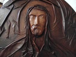 Oláh Sándor bőrszobrász - Krisztus