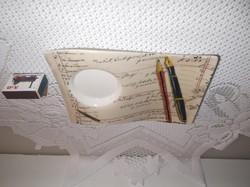 Porcelán - ÚJ - NAGY - Willeroy & Boch  - különleges reggeliző tányér - 23 x 15,5 x 3 cm