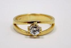 Köves arany gyűrű (ZAL-Au92236)