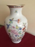 Herendi Shanghai mintás váza 33cm