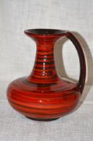 Iparművész kerámia kancsó váza ( sérült ) ( DBZ 0094 )