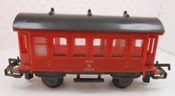 Játék vasút vonat modell vagon Mikrolin retro magyar