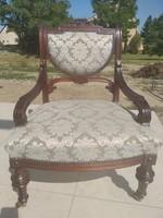 Ónémet felújított antik fotel 4 db