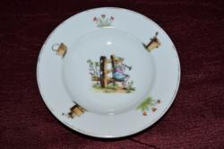 Gyerek mély tányér 02  ( DBZ 00129 )