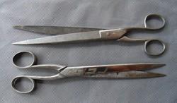 2 darab régi szabó olló