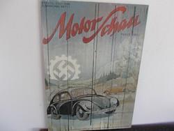 WW2,Náci auto reklam fakép,repro,  70 x50 cm