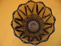 Füst színű art deco váza 2 db