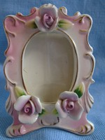 Meisseni jelzésű képtartó porcelán